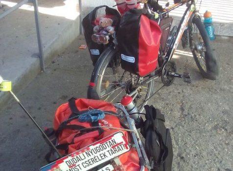 Kerékpárral hegyen-völgyön át